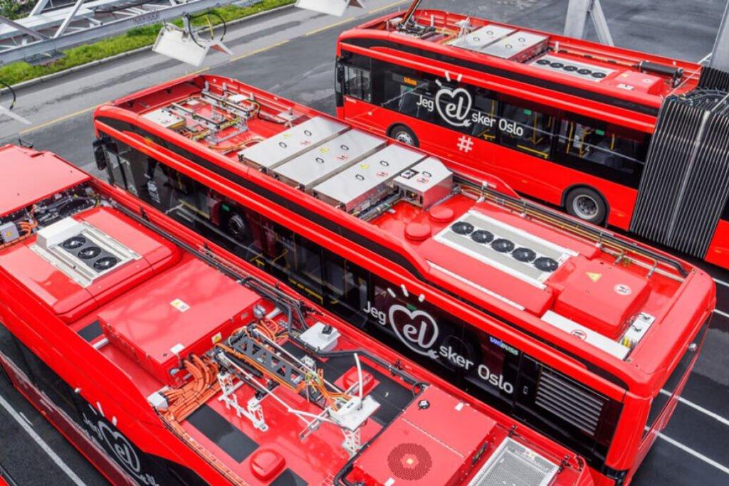 Elektrifisering av busslinjer i Nedre Glomma regionene