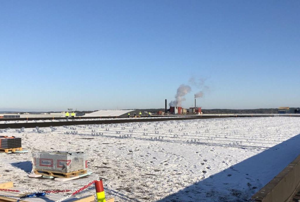 Solenergi skal dekke kraftbehovet for Borg Havn